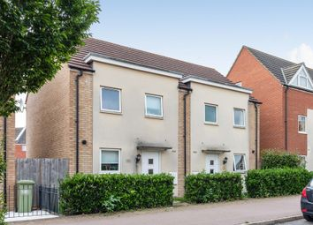 Thumbnail 3 bed semi-detached house for sale in Warwick Avenue, Broughton, Milton Keynes