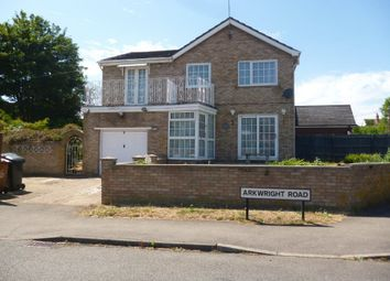 Thumbnail 4 bedroom detached house to rent in Station Road, Irchester, Wellingborough