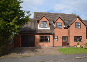 Thumbnail 4 bed detached house for sale in Forrester Close, Coleorton