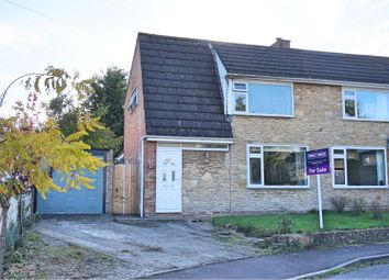 Thumbnail 3 bed semi-detached house for sale in Newleaze Park, Broughton Gifford, Nr Melksham