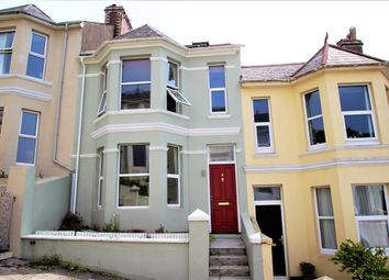 Thumbnail 4 bed terraced house to rent in Rutland Road, Mannamead, Plymouth