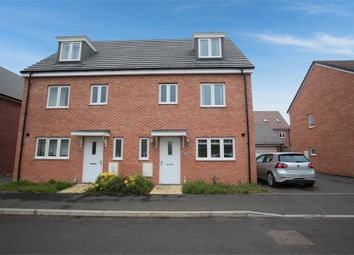 Thumbnail 4 bedroom town house for sale in Condor Drive, Leighton Buzzard, Bedfordshire