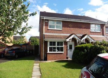 Thumbnail 3 bed semi-detached house to rent in Waltersgreen Crescent, Golborne, Warrington