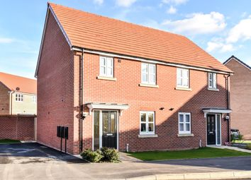 Thumbnail 3 bedroom semi-detached house for sale in Amos Drive, Pocklington, York
