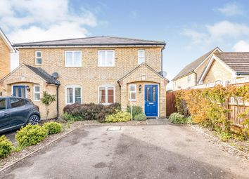 Thumbnail 2 bed semi-detached house for sale in Ringstone, Duxford, Cambridge