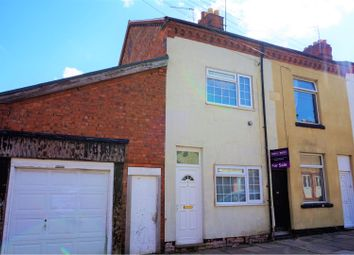 Thumbnail 2 bedroom end terrace house for sale in Rowan Street, Leicester