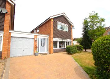 Thumbnail 3 bed detached house for sale in Wilshere Close, Kirby Muxloe, Leicester