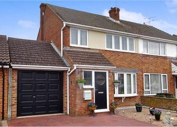 Thumbnail 3 bed semi-detached house for sale in Field Way, Aldershot