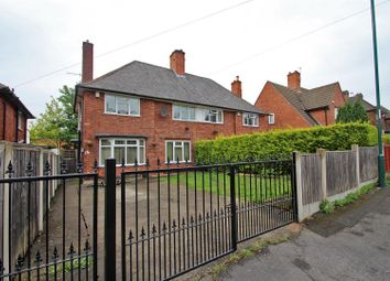 Thumbnail 3 bed semi-detached house for sale in Edingley Avenue, Sherwood, Nottingham