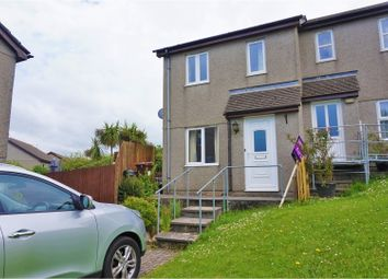 Thumbnail 2 bedroom semi-detached house for sale in Parc An Tansys, Camborne