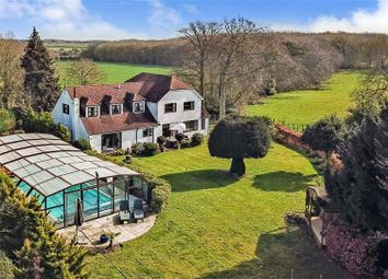 Thumbnail 4 bedroom detached house for sale in Woodlands Road, Adisham, Canterbury, Kent