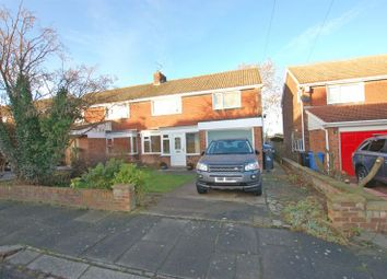 Thumbnail 4 bedroom semi-detached house for sale in Ridgely Drive, Ponteland, Newcastle Upon Tyne