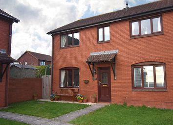 Thumbnail 3 bed end terrace house for sale in Pinwood Meadow Drive, Pinwood Meadow, Exeter
