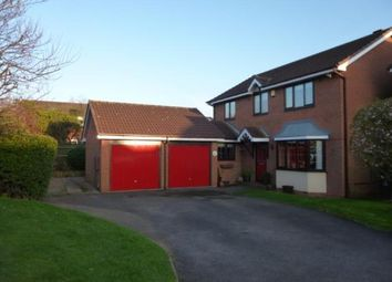Thumbnail 4 bed detached house for sale in Lindisfarne, Glascote, Tamworth, Staffordshire