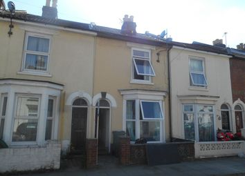 Thumbnail 4 bedroom terraced house to rent in Margate Road, Southsea
