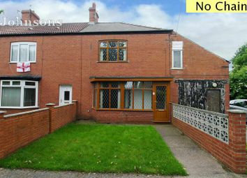 Thumbnail 3 bed end terrace house for sale in Millcroft, Stainforth, Doncaster.