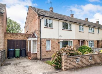 Thumbnail 3 bedroom end terrace house for sale in Fletcher Way, Hemel Hempstead, Hertfordshire