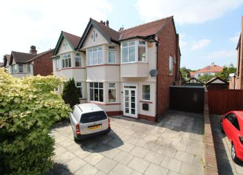 Thumbnail 3 bed semi-detached house for sale in Carisbrooke Drive, Churchtown, Southport
