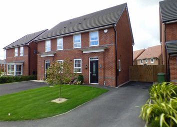 Thumbnail 3 bed semi-detached house for sale in Peter Fletcher Crescent, Elworth, Sandbach