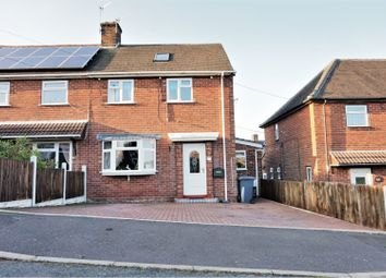 Thumbnail 3 bed semi-detached house for sale in Coniston Grove Westlands, Newcastle