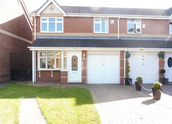 Thumbnail 3 bedroom semi-detached house to rent in St. Johns Close, Stockton-On-Tees