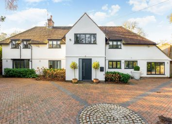 Thumbnail 4 bed detached house to rent in Priorsfield Road, Hurtmore, Godalming