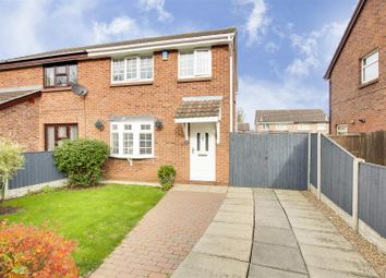 Thumbnail 3 bed semi-detached house for sale in Wood Link, Snape Wood, Nottinghamshire