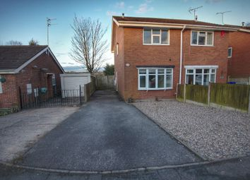 Thumbnail 2 bed semi-detached house for sale in Silsden Grove, Meir, Stoke-On-Trent