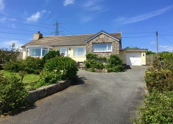 Thumbnail 3 bed detached bungalow for sale in Talwrn, Llangefni, Anglesey