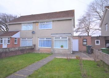 Thumbnail 2 bed semi-detached house for sale in Trebanog Crescent, Rumney, Cardiff.