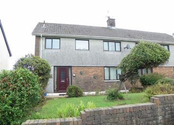 Thumbnail 3 bed semi-detached house for sale in Ger Y Coed, Pontyates, Llanelli