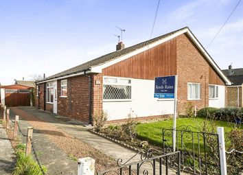 Thumbnail 3 bedroom bungalow for sale in Russell Road, Goole