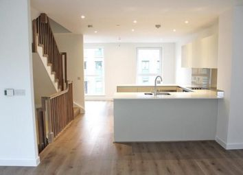 Thumbnail 3 bed terraced house to rent in Ottley Drive, Kidbrooke Village, London