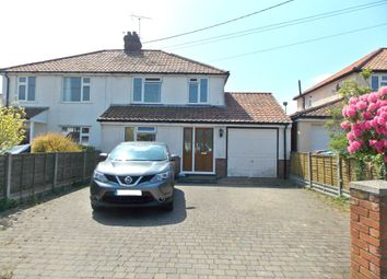 Thumbnail 3 bed semi-detached house to rent in Bucklesham Road, Kirton, Ipswich