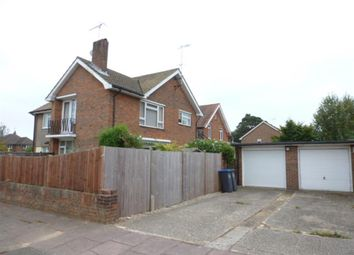 Thumbnail 2 bedroom flat for sale in Burford Close, Worthing, West Sussex