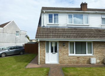 Thumbnail 3 bed semi-detached house for sale in Teglan Park, Ammanford, Carmarthenshire.