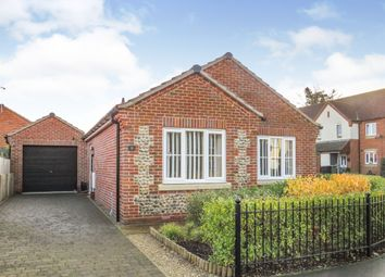 Thumbnail 2 bed detached bungalow for sale in Ainsworth Road, Holt