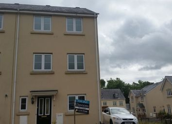 Thumbnail 4 bed town house to rent in Ffordd Cambria, Pontarddulais