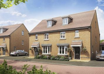 "Thumbnail 4 bed semi-detached house for sale in ""Bayswater"" at Locksbridge Road, Picket Piece, Andover"