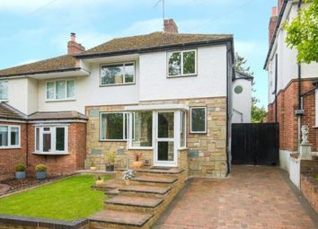 Thumbnail 4 bed semi-detached house for sale in Holbeck Lane, West Cheshunt, Hertfordshire