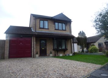 Thumbnail 3 bed detached house for sale in Brauncewell Close, Ruskington, Sleaford