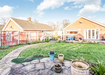 Thumbnail 3 bedroom detached bungalow for sale in Downing Drive, Evington, Leicester