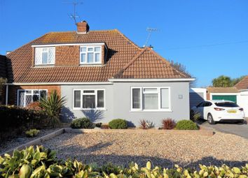Thumbnail 3 bed semi-detached house for sale in Bolsover Road, Goring-By-Sea, Worthing