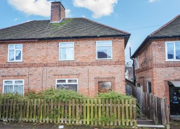 Thumbnail 3 bed semi-detached house for sale in Keble Road, Knighton Fields, Leicester