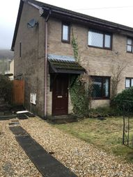 Thumbnail Semi-detached house for sale in Dan Y Bryn, Caerau, Maesteg