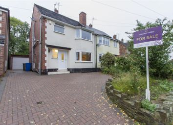 Thumbnail 3 bed semi-detached house for sale in Ashgate Avenue, Ashgate, Chesterfield