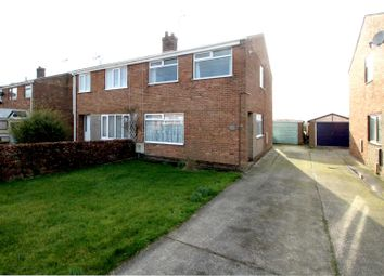 Thumbnail 3 bed semi-detached house for sale in Mount Pleasant Road, North Frodingham, Driffield
