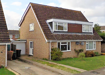 Thumbnail 3 bed semi-detached house to rent in Lincroft, Oakley, Bedford