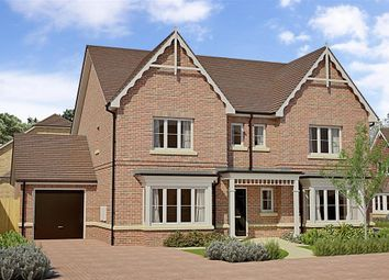 Thumbnail 4 bed detached house for sale in Oakview, Horsham, West Sussex