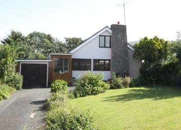 Thumbnail 4 bed detached bungalow for sale in Y Groesffordd, Bryncrug, Tywyn, Gwynedd